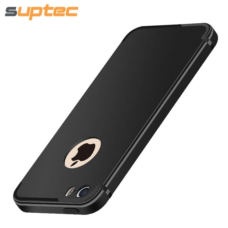 suptec phone case for iphone 5s 5 se original ultra thin soft tpu silicone capinhas coque cover. Black Bedroom Furniture Sets. Home Design Ideas