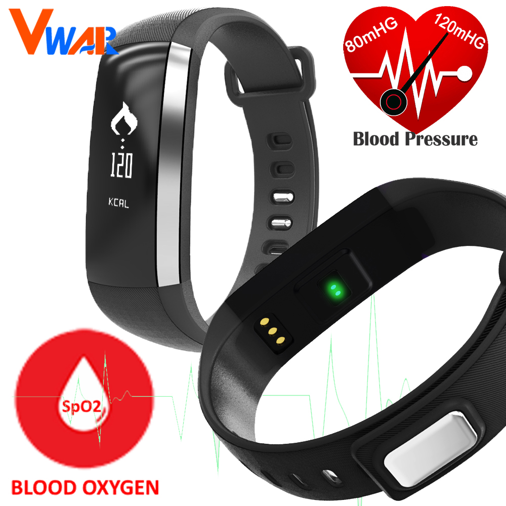 M2 Smart Band Heart Rate Blood Pressure Pulse Meter Bracelet Fitness Watch Smartband for iOS Android