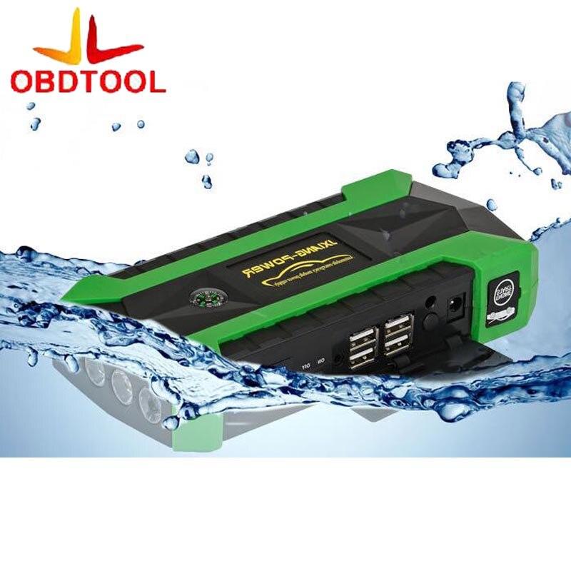 Green Starting Device Car Jump Starter 69900mAh 12V Portable Starter Power Bank Batteries Charger for Car Battery Booster Buster