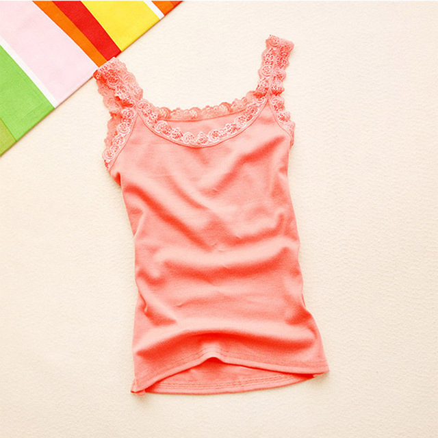2017 women's sleeveless lace sexy ladies fashion Multicolors Strap Tank Tops Vest 16 colors available.