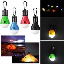 Portable Outdoor Indoor Light 3 LED Lantern Waterproof Tent Hiking Fishing Emergency Lamp Use 3*AAA Battery