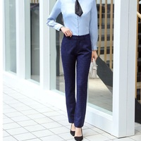New 2019 High Quality Fabric Uniform Styles Women Formal Pants Female Trousers Leggings Office Ladies Pants Business Work Wear