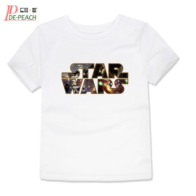 9a0d813bd7af6 Les adolescents Garçons Coton 3D Imprimé T-shirts Enfants Marque Filles  Garçon Lettre T shirt