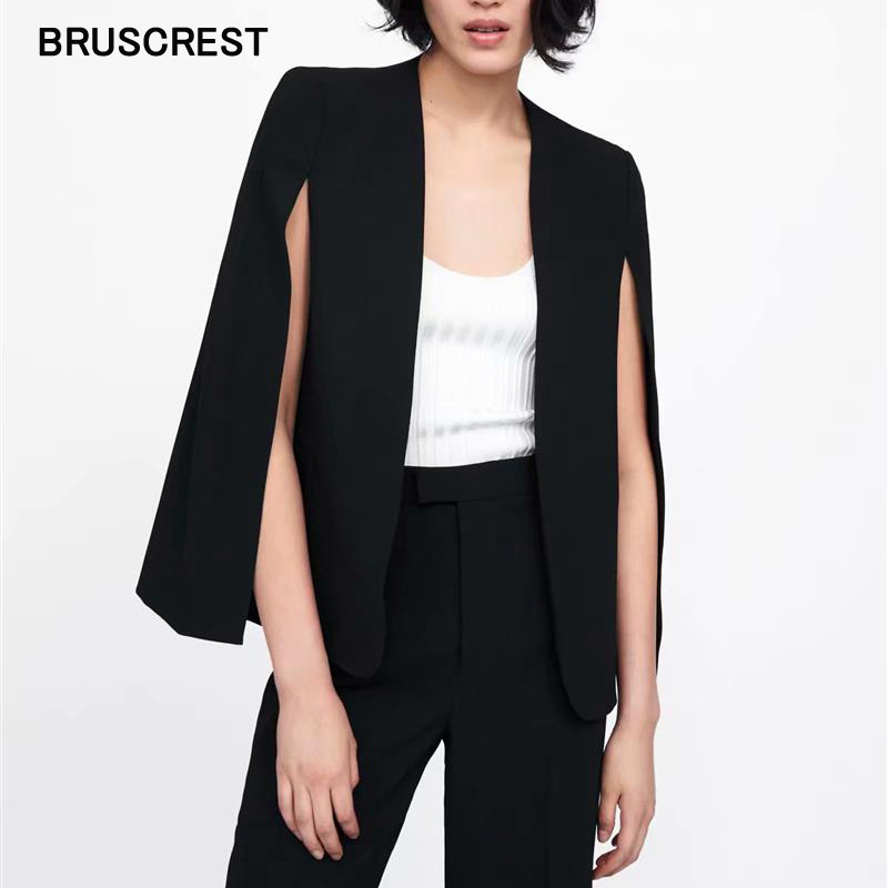 Summer Office Coats And Jackets Women V Neck Sexy Black White Office Wear Outerwear Female Casual Chic Open Stitch Top Clothes