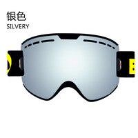 2018 Ski Goggles Snowboard Glasses UV400 Anti fog Ski Glasses Men Cross country Skiing Snowboard Glasses