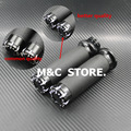 "1Pair Motorcycle 1""25mm Aluminum CNC Deep Cut Handle Bar Hand Grips For Harley Sportster Touring Dyna Softail Custom"