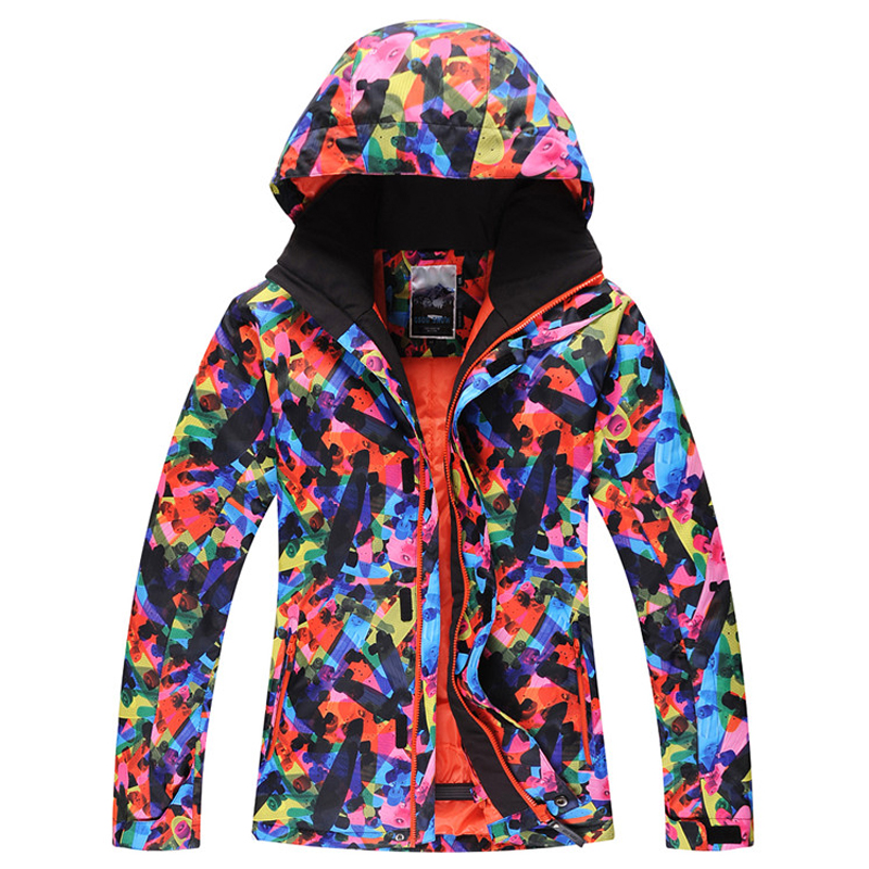 2016 NEW ski jacket men snowboard waterproof windproof winter warm clothing Free shipping