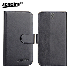 Nous NS 5502 Case 2017 6 Colors Dedicated Flip Leather Exclusive 100% Special Phone Cover Cases Card Wallet+Tracking стоимость