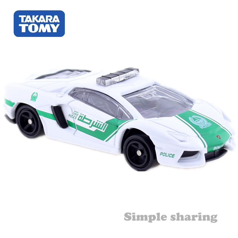 TOMICA 87 LAMBORGHINI AVENTADOR LP700-4 DUBAI POLICE DEICAST CAR 801023 Spielzeugautos