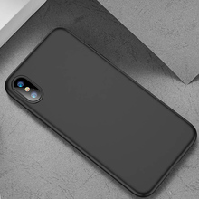Luxury Soft Back Matte Color Cases for iPhone 7 8 X XS max XR Case Shockproof TPU Silicone Back Cover for iPhone 6 6s Cases cheap Forubest Fitted Case cute Business Plain SQUISHY Soft Case For iPhone Heavy Duty Protection Anti-knock Dirt-resistant Apple iPhones
