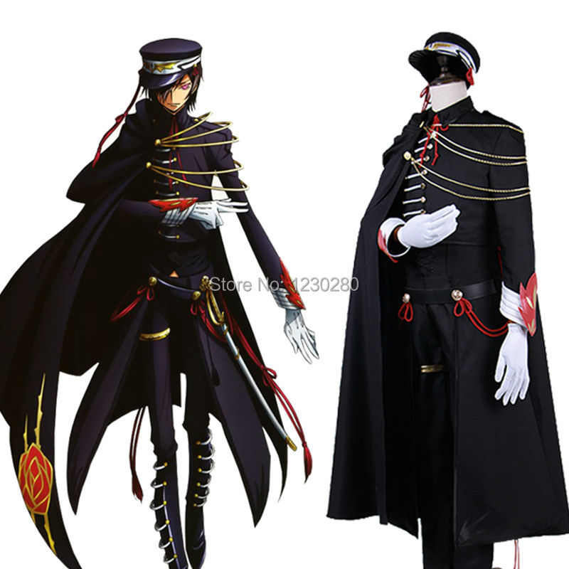 The Best Anime Code Geass Cosplay Clothing-code Geass Cosplay Schneizel El Britannia Cosplay Costume Mens Party Costume Free Shipping Beautiful In Colour Men's Costumes Back To Search Resultsnovelty & Special Use