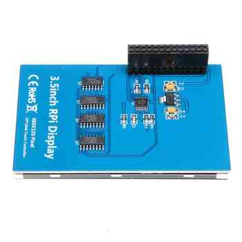 3.5 Inch For Raspberry Pi TFT Tou ch Screen LCD Display + ABS Black Case Box + Tou ch Pen 320x480 LCD Display Monitor Set