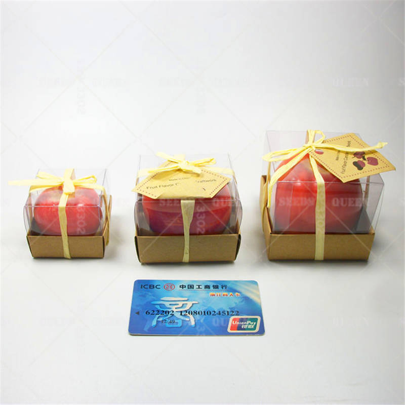 1pcs Simulation Apple Candles Creative New Fancy Christmas Gifts ...