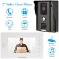 """KKmoon 7"""" TFT Color Display Wired Video Door Phone Doorbell Intercom System Night Vision IR Camera Visual intercom"""