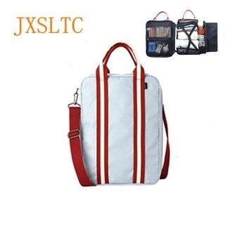 8c8f87ed4fe7 JXSLTC нейлоновая спортивная сумка Для мужчин маленькие дорожные сумки  складной чемодан большой Ёмкость выходные сумка женский Упаковка Куби..