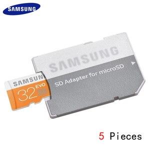 Samsung avançado microsd mini tf micro sd adaptador de cartão micro sd para sd leitor de cartão de memória conversor nova venda quente 5 pçs/lote