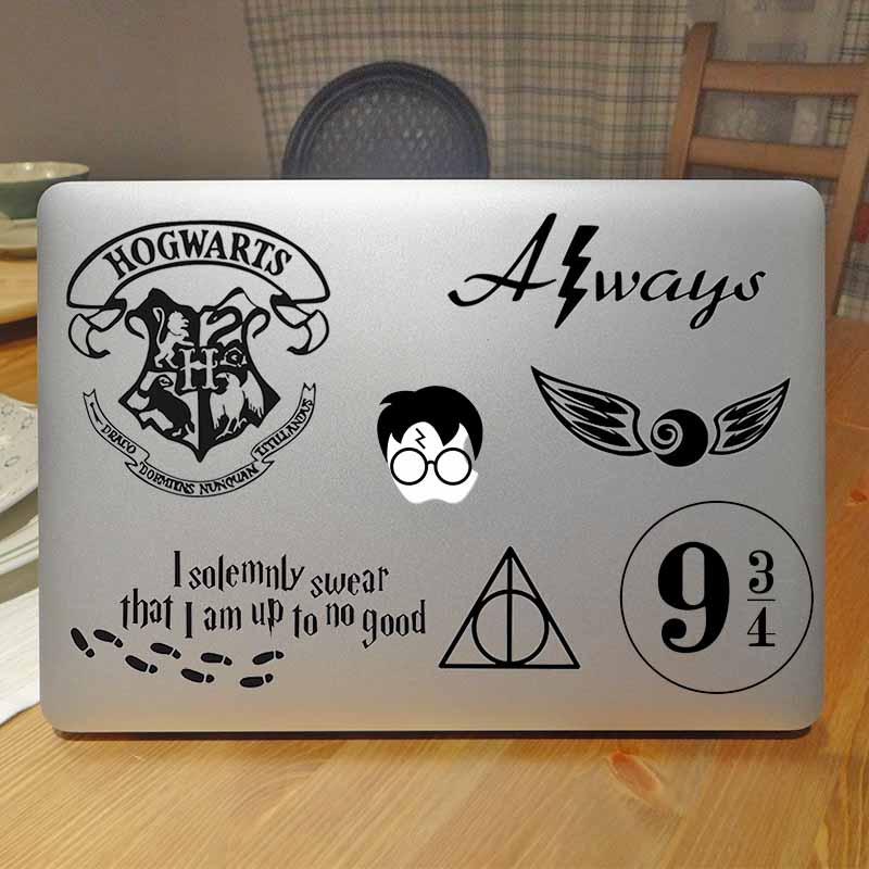 Cool Magic Theme Laptop Decal Sticker for Apple Macbook Decal Pro Air Retina 11 12 13 15 ...