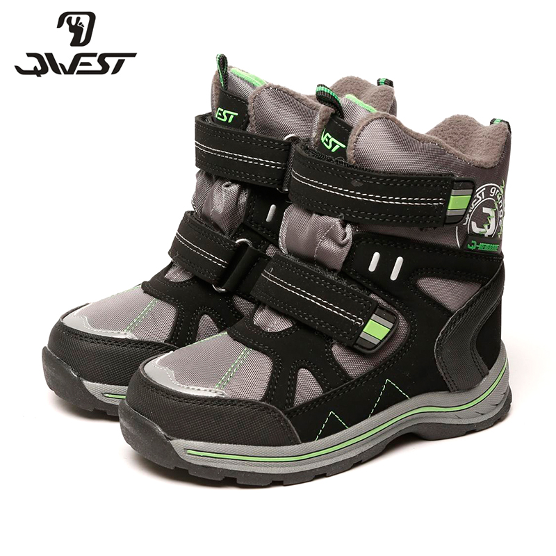 QWEST(FLAMINGO) 2017 new collection winter fashion snow boots with wool high quality anti-slip kids shoes 72M-YC-0414/ 0416 flamingo 2017 new collection winter fashion snow boots with wool high quality anti slip kids shoes for girl 72m yc 0430 0431
