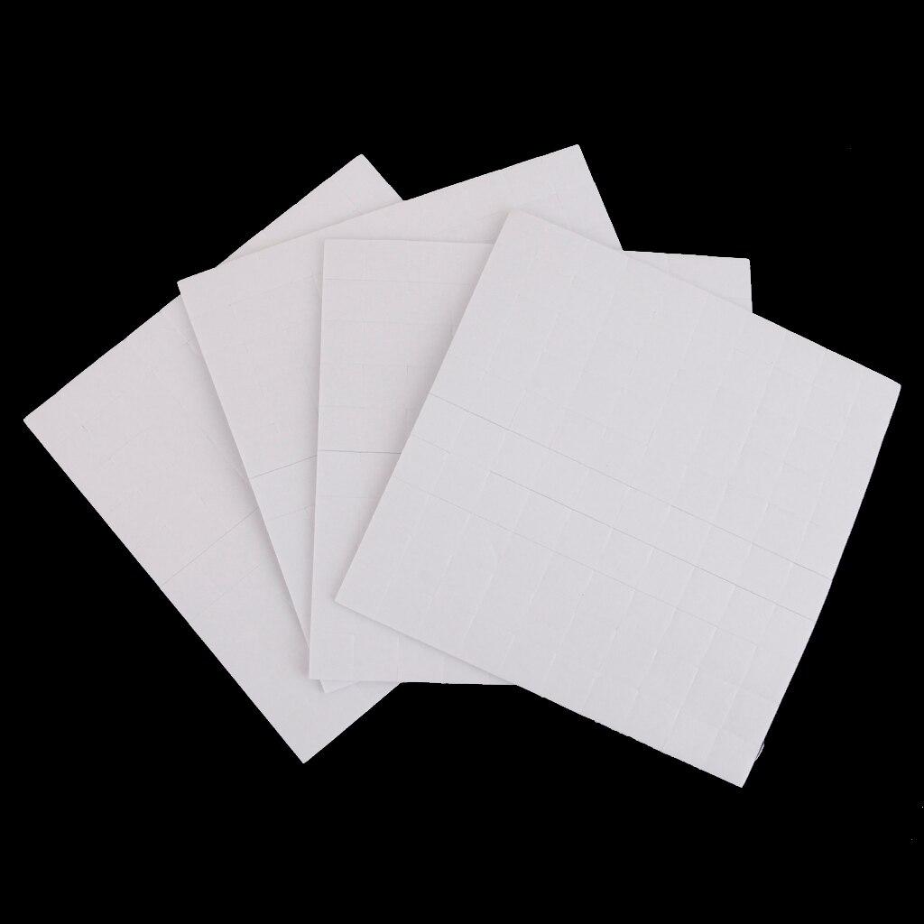 """חדש מכירה לוהטת 4 גיליון דו צדדי דבק קצף דביקות דביקות FIXERS עבור כרטיס ביצוע 1/2/3 מ""""מ פסטיבל מסיבת אספקת עיצוב הבית"""
