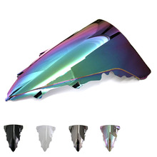 Motorcycle Windscreen/Windshield Screen Protector Double Bubble For Yamaha YZF R1 09 10 11 12 13 14  YZF-R1 2009-2014