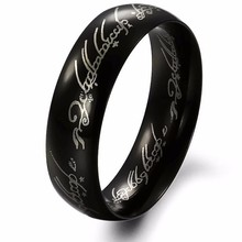 Ring Tungsten One Ring of Power Gold the Lord of Ring Lоvers Women and Men