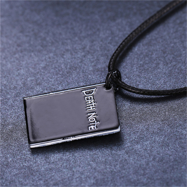 Death Note Black Book Necklace