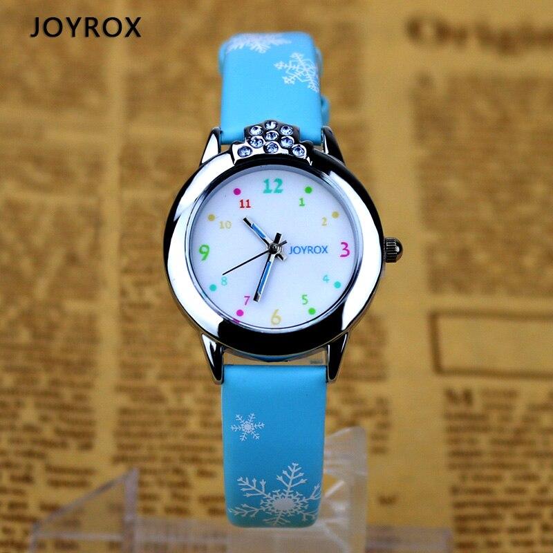 JOYROX 6 kleuren kinderen polshorloge 2018 nieuwe cartoon quartz kind - Kinderhorloges - Foto 3