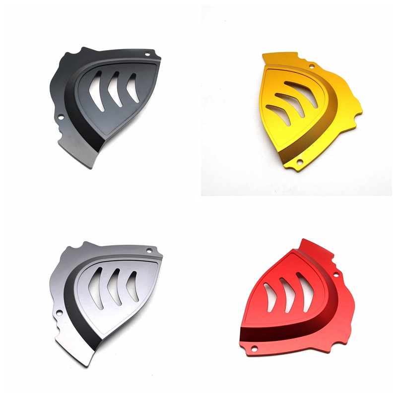 High Quality Motorcycle CNC Aluminum Alloy Front Sprocket Chain Cover For Ducati Monster 821 1200 S 2014 2015 2016 xuankun off road motorcycle accessories kxf250 450 04 16 aluminum alloy cnc small sprocket protection cover