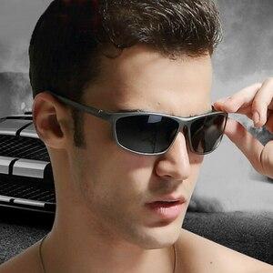 Image 2 - OLEY lunettes de soleil accessoires lunettes polarisées pour hommes, marque de styliste en aluminium magnésium, accessoires pour la conduite