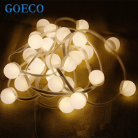 Wedding Decor Led String Light 4 5Meters 27Bulbs Warm White Colorful Led Strip Garland Outdoor String