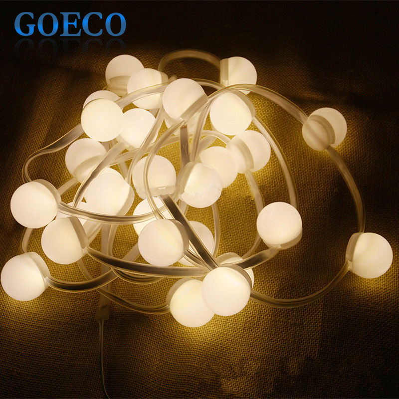 Wedding Decor Led String Light 4.5Meters 27Bulbs Warm White/Colorful Led  Strip Garland Outdoor