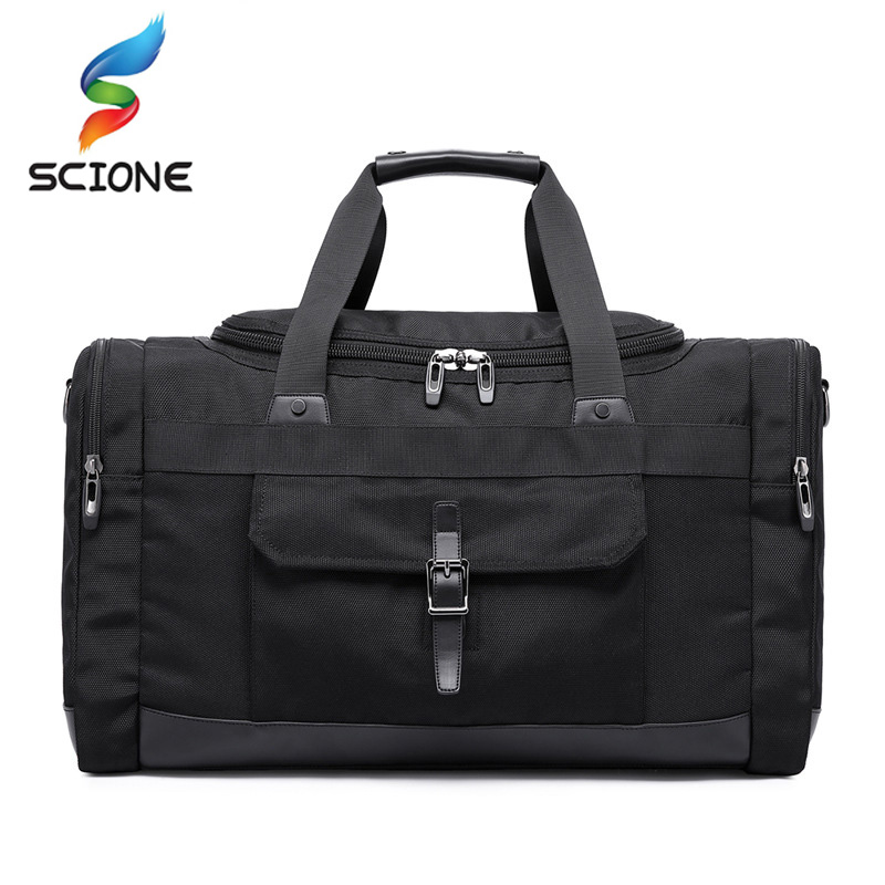 Large Capacity Outdoor Travel Gym Bag Men Woman Fitness Bags Durable Multifunction Handbag Sporting Camping Hiking Duffle Bag temena large capacity outdoor sports bag for men new brand pu tote duffel bag multifunction travel sports gym fitness bag ac12