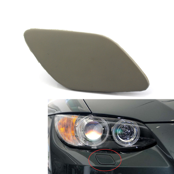 For BMW E92 E93 LCI Headlight Washer Jet Nozzle Cover Cap Right Passenger Side 335i 335xi 328xi 328i 2 Door 61677171660 image