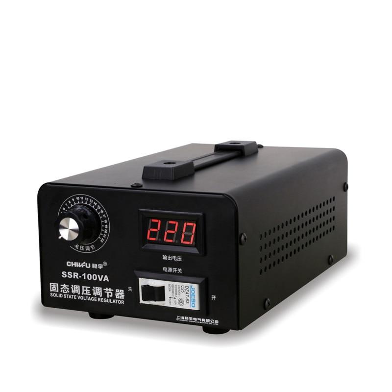 Solid State Voltage Regulator 220V Voltage Regulator High Power 0-220V Temperature Modulation For Single-phase Silicon Controlle