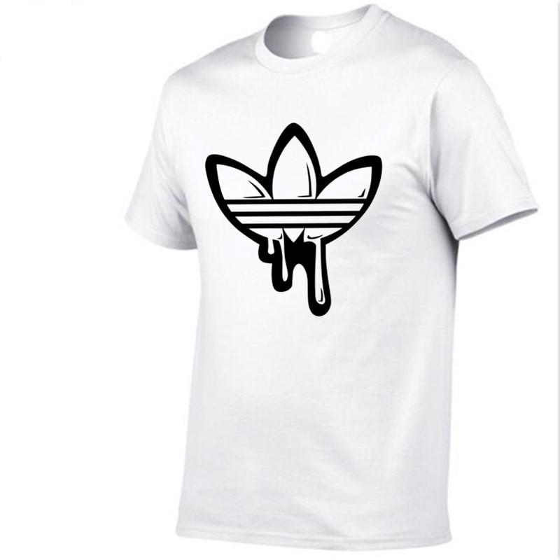2018 Summer Cotton funny camisetas mangas cortas camiseta hombres - Ropa de hombre