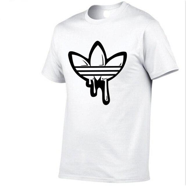 2018 Summer Cotton funny t shirts short sleeves t-shirt men Fashion doodle Print Red t shirt men tops tees casual tshirt men