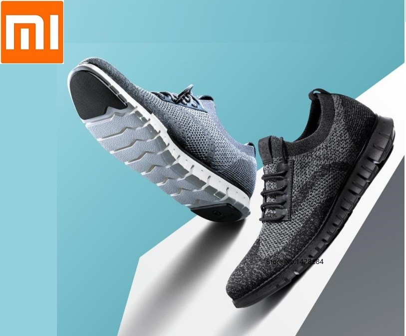 Xiaomi mijia Cool soft bottom casual shoes Lightweight Antibacterial deodorant breathable men Running sports Walking Sneakers