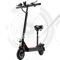 Electric Scooter 250w 24v Mini Folding Adult Electric Scooter LED Long Plate Standing Hoverboard