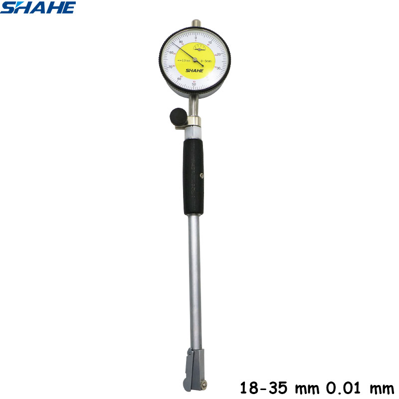 18 35 mm dial bore gauge Dial Bore Gauge Hole Diameter Measuring gauge 0 01 mm