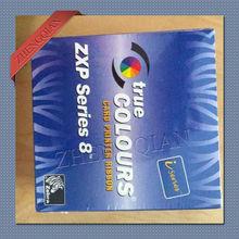 Zebra 800012 480 YMCKK full color printer ribbon type 500 image for zxp8 dual sided id
