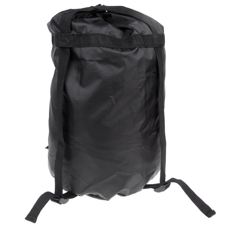 MYMF-BLUE FIELD High capacity Compression Stuff Sack Bag Outdoor Camping Sleeping Black S