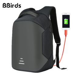 BBirds 15.6 inch Laptop Backpacks Waterproof Men's Backpack Notebook USB Anti Theft Backpack Rugtas Modernist Max ii Upgraded