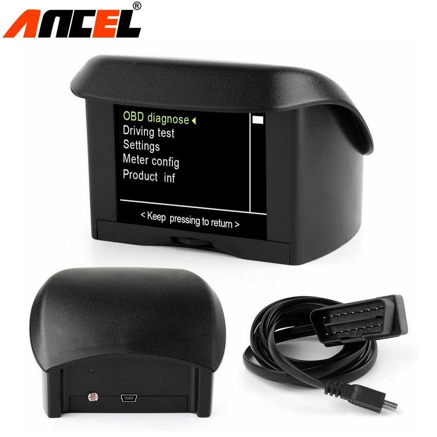 Prix pour A202 Multi-Fonction De Voiture OBD Smart Numérique mètre + Alarme Faute code température de L'eau jauge numérique tension compteur de vitesse affichage