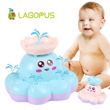 lagopus electronic toys spray Octopus bath for baby funny Floating Water bathroom playing best gift children
