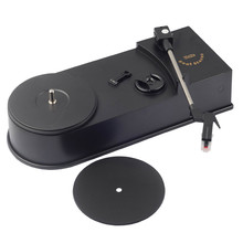 EZCAP Vinyl Record Player 33/45RPM LP Turntables Converter Player to Convert Analog Music to MP3 WAV Digital For PC Windows MAC
