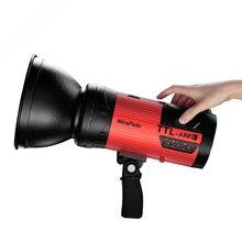 Nicefoto TTL-680C портативный 600 Вт Студия Строб вспышка света HSS 1/8000 для Canon TTL-680C