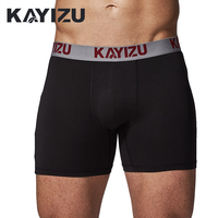 KAYIZU 2017 Boxers Men 3Pcs\lot Underwear Cueca Boxer Solid Boxer Shorts Male Underwear Panties Underpants Men boxers pour homme