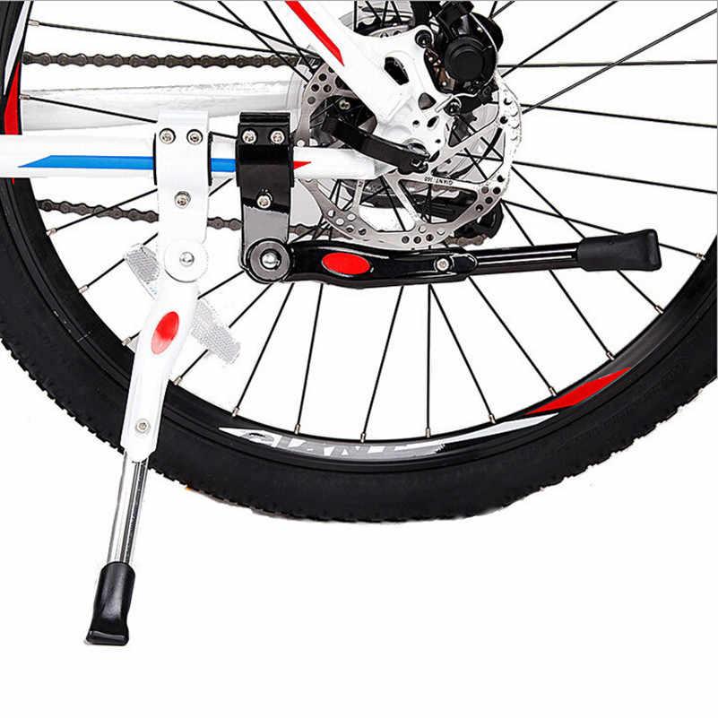 WEST BIKINGจักรยานKickstandขาปะเก็นยางป้องกันจักรยานเท้ารั้งสนับสนุนจักรยานขี่จักรยานด้านข้างKickstands