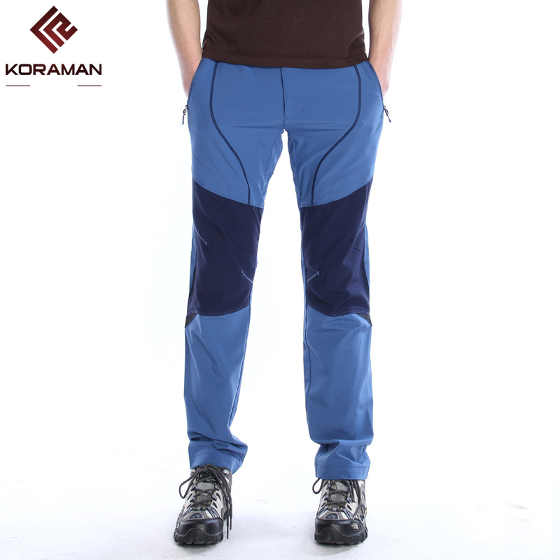 KORAMAN  MEN Summer Thin quick-dry pants Fleece Softshell Pants Fishing Camping Hiking Skiing Trousers Waterproof Windproof 113 man waterproof fleecetreval outdoor hiking pants camping climbing trekking skiing quick dry thermal softshell trousers 5xl p16m
