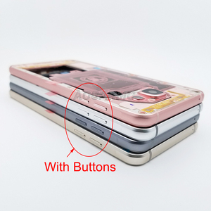 Image 2 - Aocarmo Vervanging Midden Frame Bezel Chassis Behuizing Met Knoppen Sim Tray Voor Samsung A5 (2016) A510 A510F
